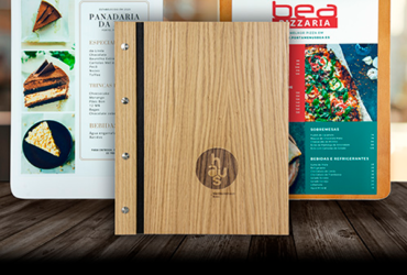 Porta Cartas para Restaurantes de Madera
