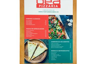Las tablas de menú con pinza personalizadas